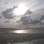 Abendstimmung am Strand, Borkum